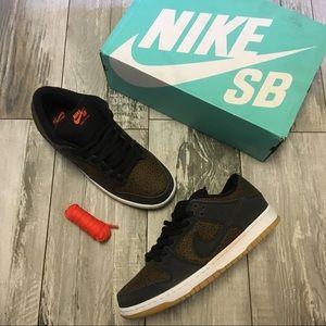 """Nike Dunk Low """"Giraffe"""" Premium SB Sneakers"""